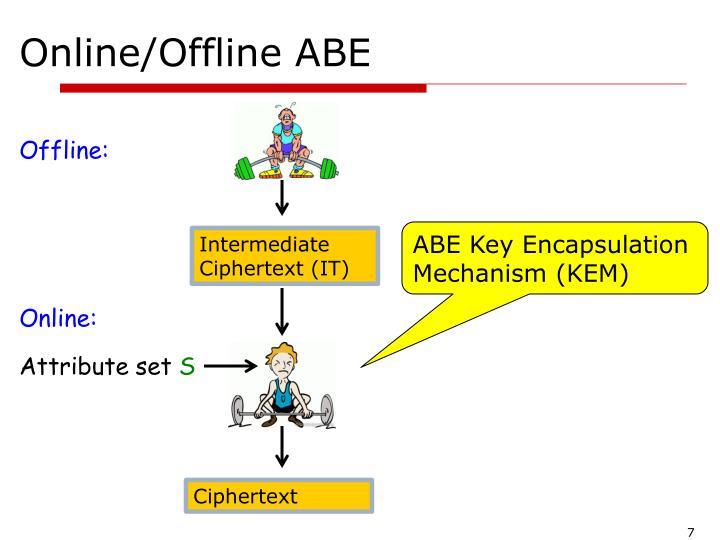 Online/Offline ABE