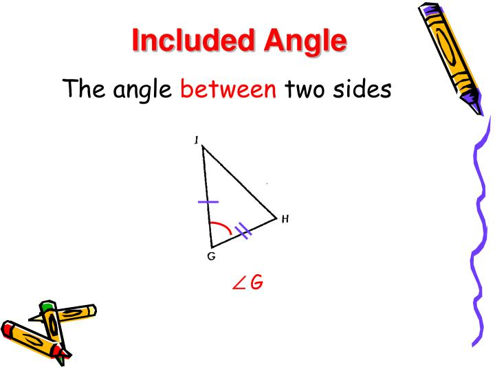 Included Angle