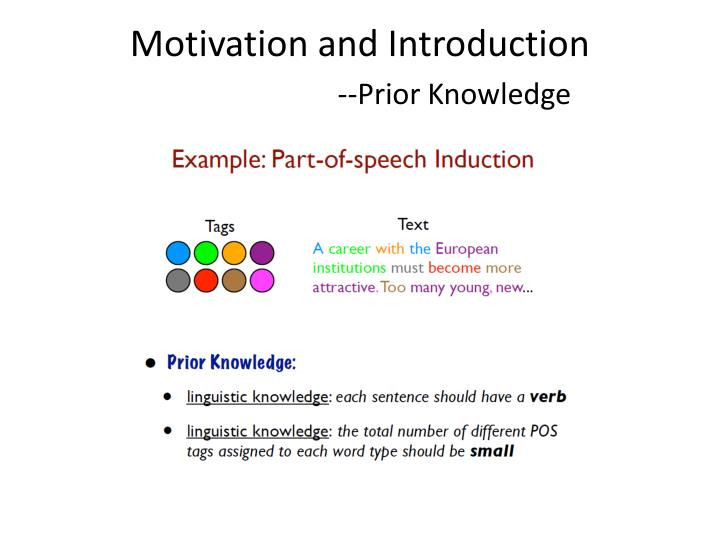 Motivation and Introduction