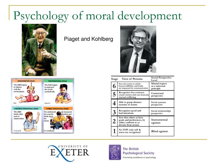 Psychology of moral development