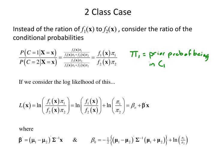 2 Class Case