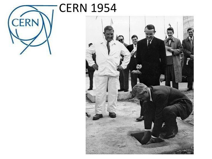 CERN 1954