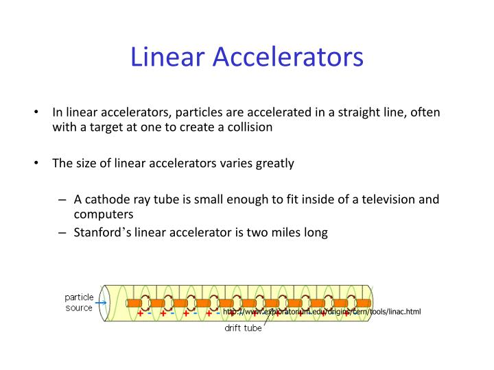 Linear accelerators