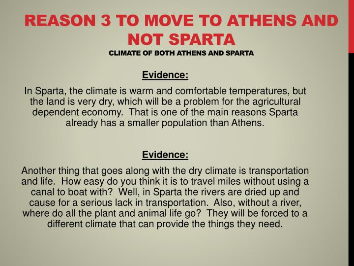 the similarities and differences of athens and sparta Comparison of athens and sparta essayscomparing athens and sparta is like comparing heaven to hell one of the the few similarities which athens and sparta share is that both of the cities are located in the same country, greece.