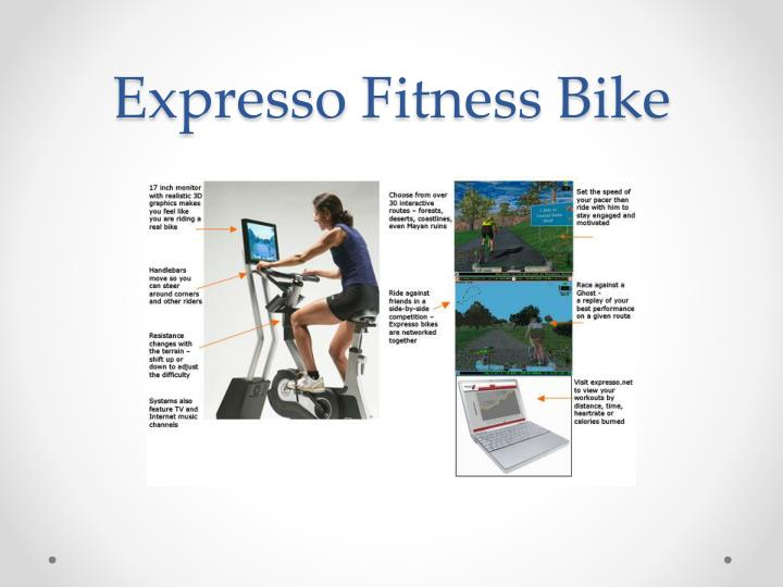 Expresso fitness bike