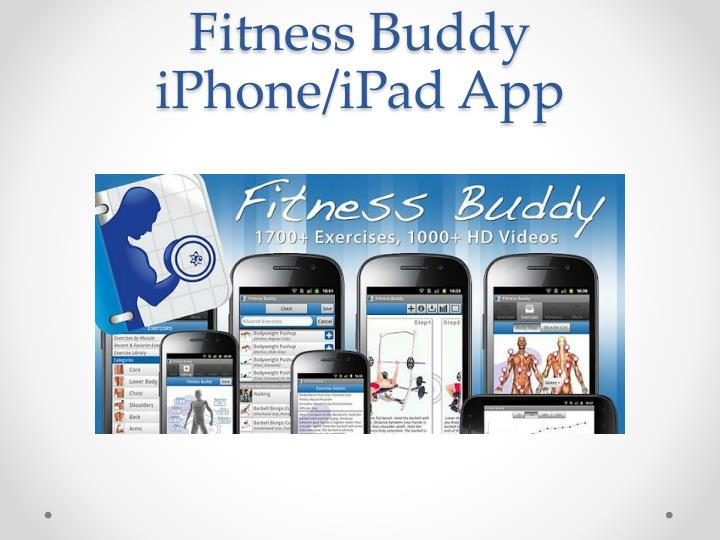 Fitness Buddy iPhone/