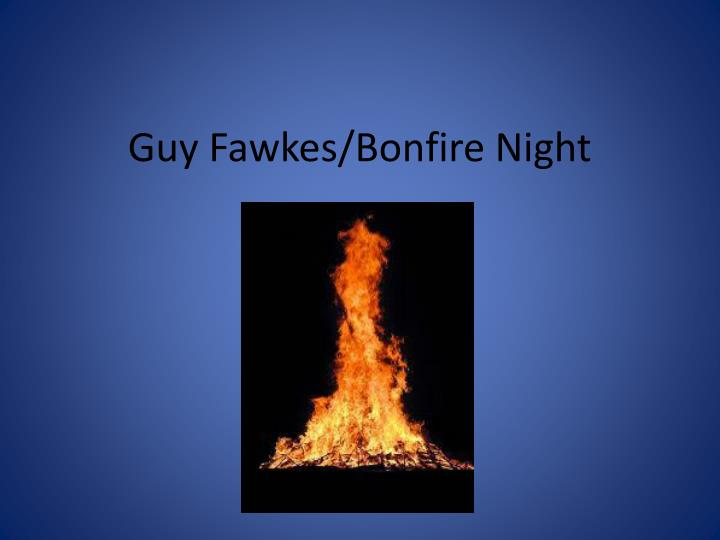 Guy fawkes bonfire night