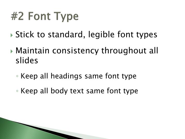 #2 Font Type