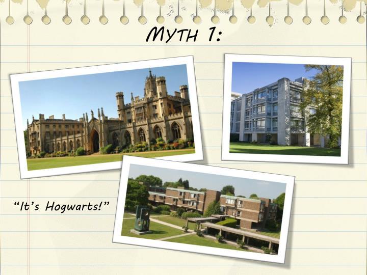 Myth 1: