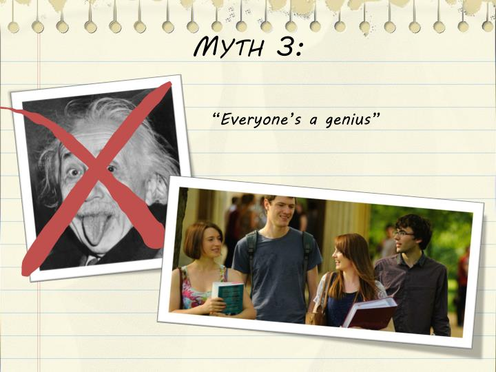 Myth 3: