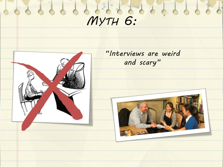 Myth 6: