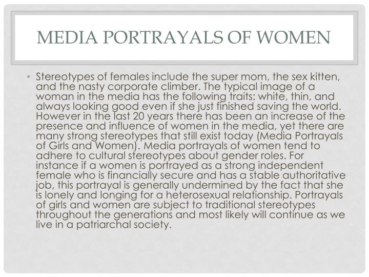 Media Portrayals of Women