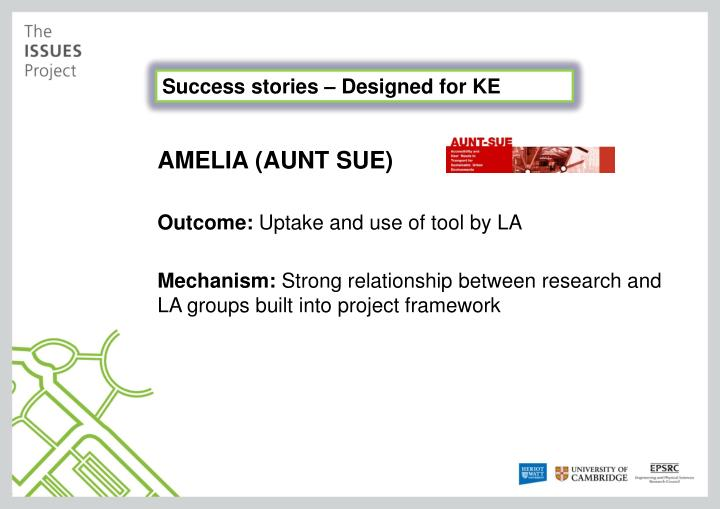 Success stories – Designed for KE
