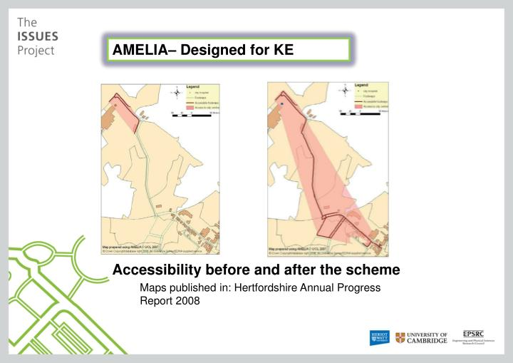 AMELIA– Designed for KE