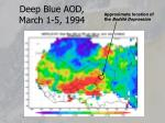 deep blue aod march 1 5 1994
