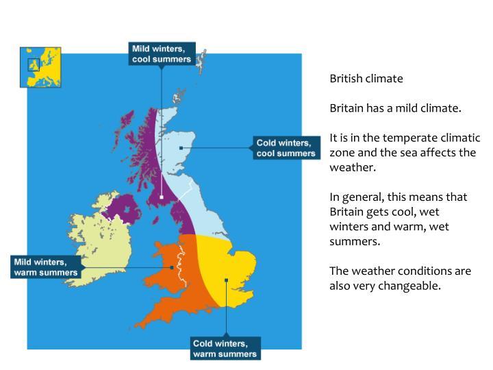 British climate