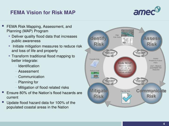 FEMA Vision for Risk MAP