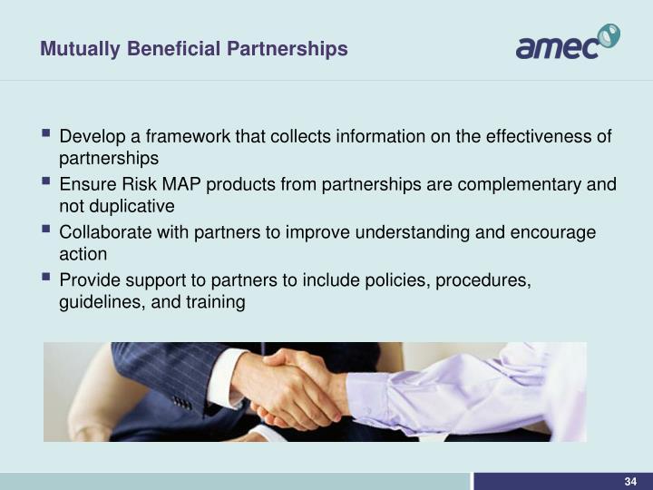 Mutually Beneficial Partnerships