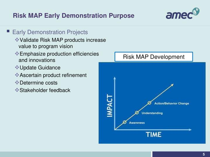 Risk MAP Early Demonstration Purpose