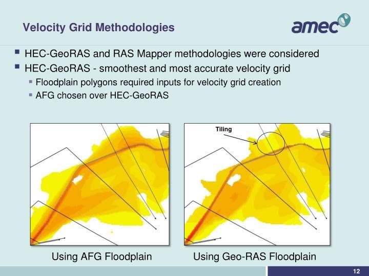 Velocity Grid Methodologies