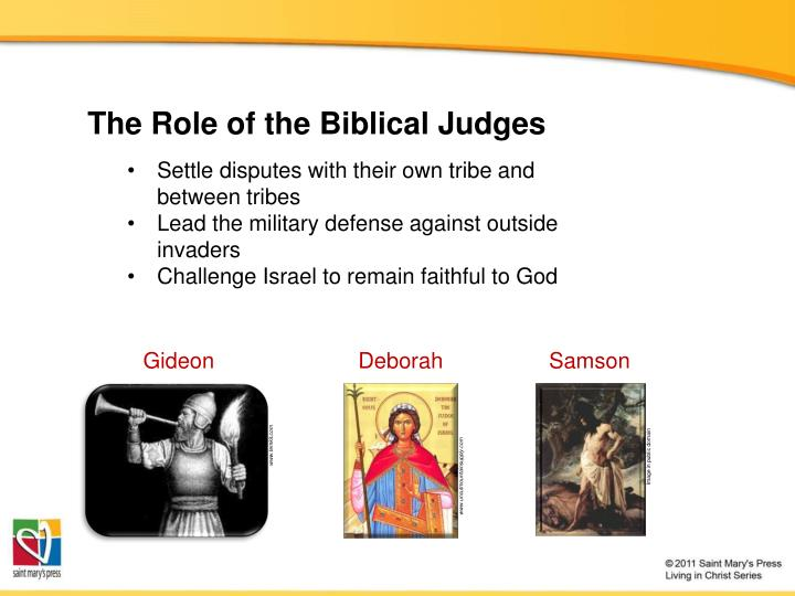 The Role of the Biblical Judges