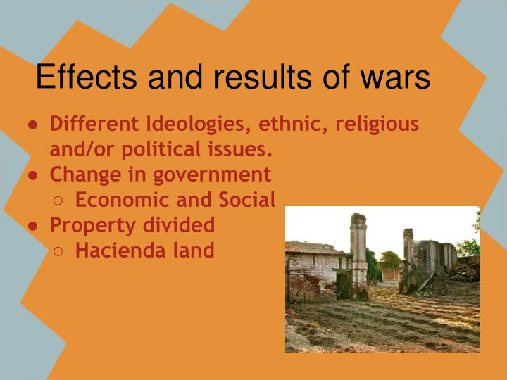 Effects and results of wars