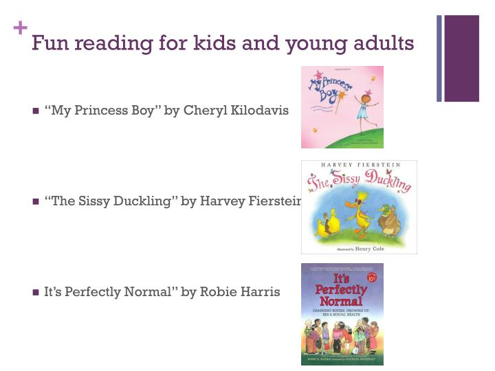 Fun reading for kids and young adults