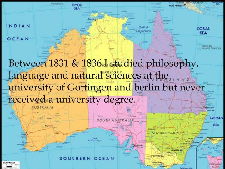 Between 1831 & 1836