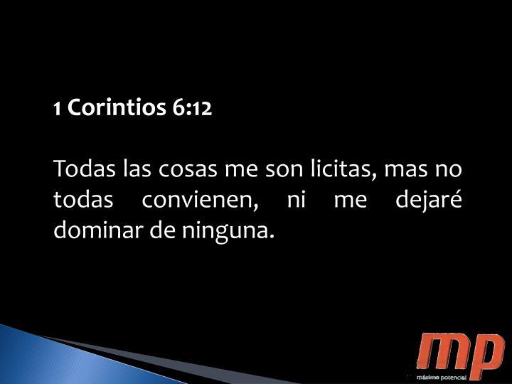 1 Corintios 6:12