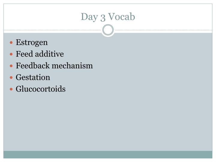 Day 3 Vocab