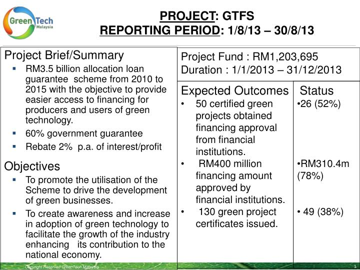 Project gtfs reporting period 1 8 13 30 8 13