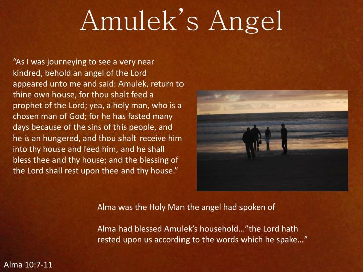 Amulek's