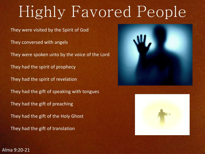 Highly Favored People