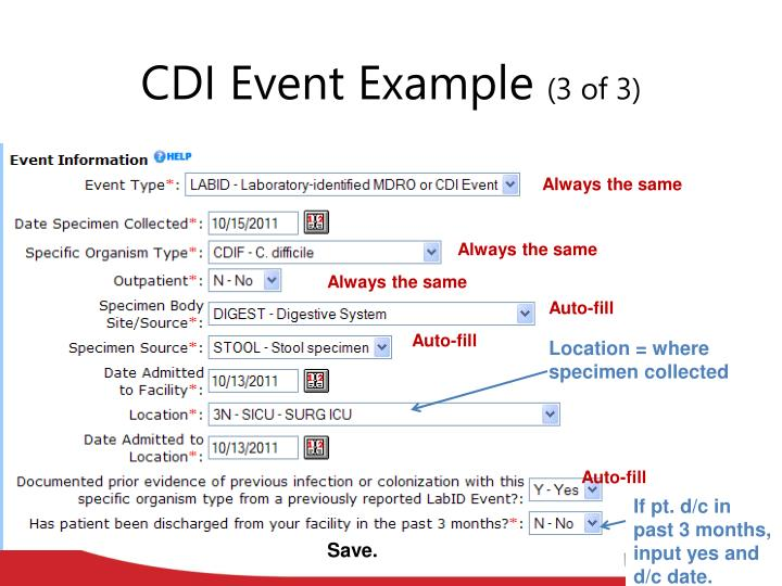 CDI Event Example