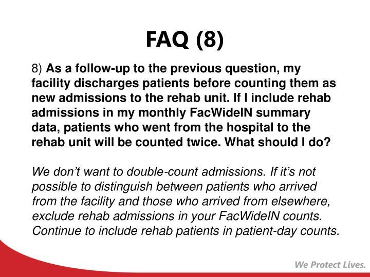 FAQ (8)