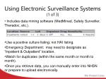 using electronic surveillance systems 1 of 3