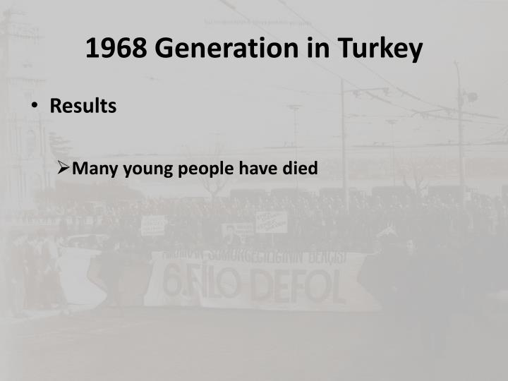 1968 Generation in Turkey