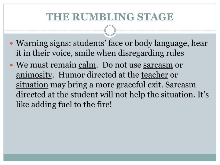 THE RUMBLING