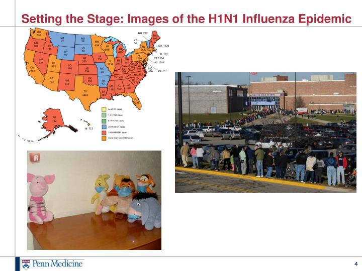 Setting the Stage: Images of the H1N1 Influenza Epidemic