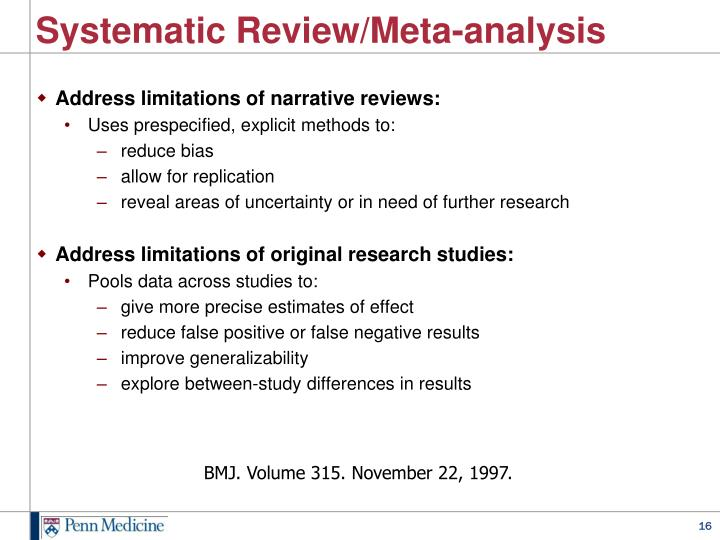 Systematic Review/Meta-analysis