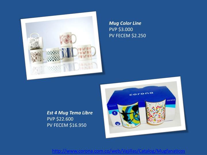Mug Color Line