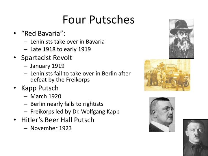 Four Putsches