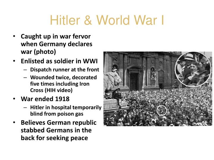 Hitler & World War I