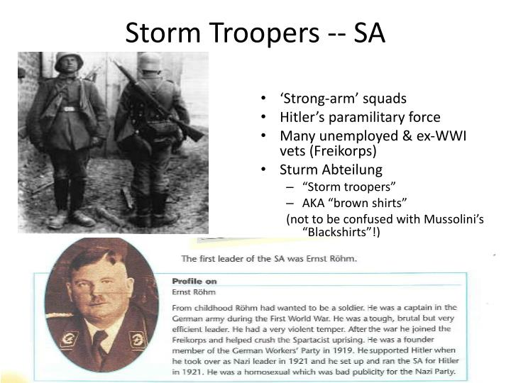 Storm Troopers -- SA