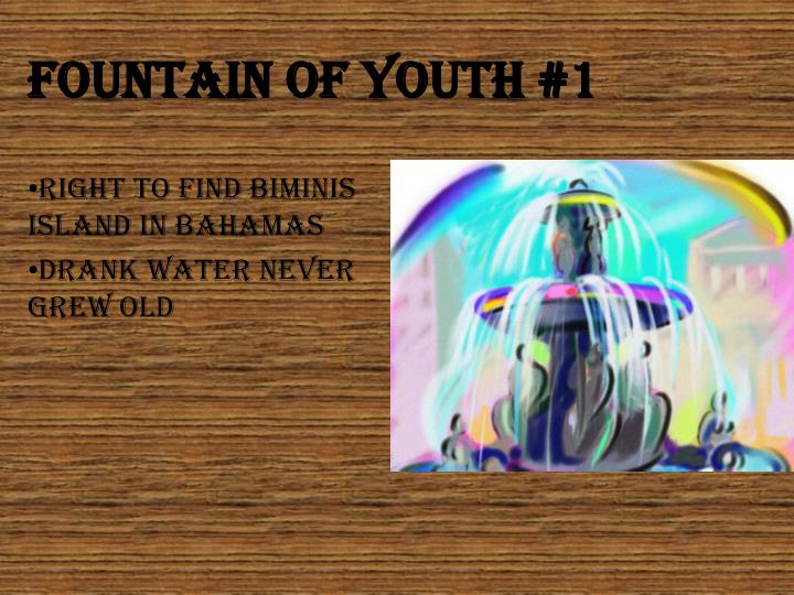 Fountain Of youth #1