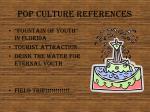 pop culture references