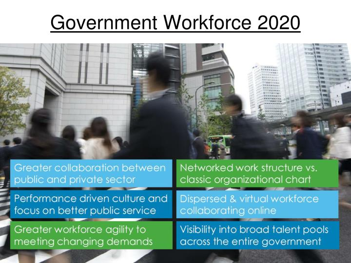 Government workforce 2020