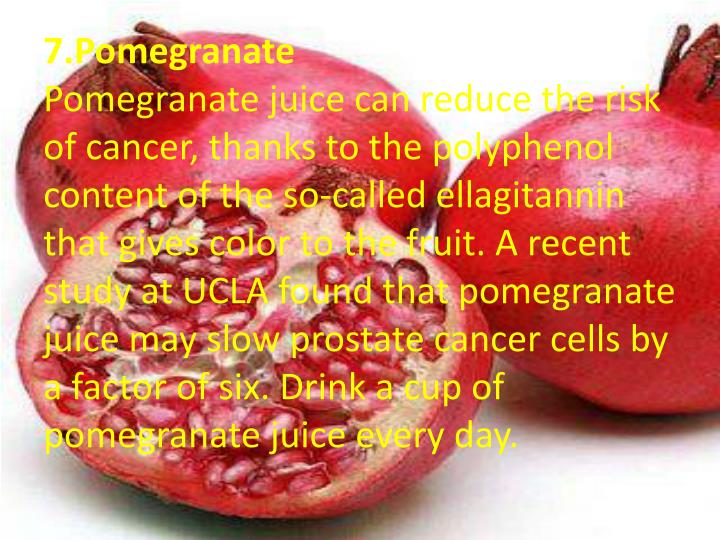 7.Pomegranate