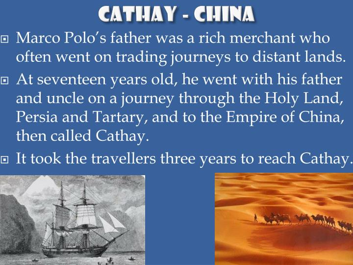 Cathay - China