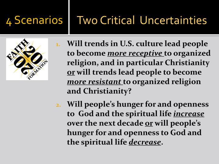 4 Scenarios
